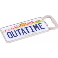 Back To The Future Outatime Numberplate Bottle Opener - Bottle Opener Gifts