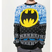 Batman Knitted Jumper - Knitted Gifts