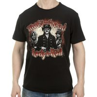 Black Motorhead Chains T-Shirt from Amplified - Motorhead Gifts