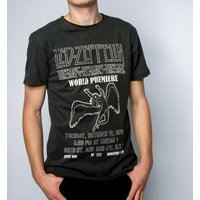 Charcoal Led Zeppelin Song Remains The Same T-Shirt from Amplified - Led Zeppelin Gifts