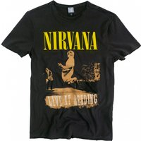 Charcoal Nirvana Live At Reading T-Shirt from Amplified - Nirvana Gifts
