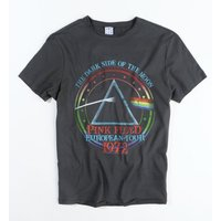 Charcoal Pink Floyd 1972 Tour T-Shirt from Amplified - Pink Floyd Gifts