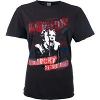 Charcoal Sex Pistols Anarchy In The UK T-Shirt from Amplified - Sex Pistols Gifts