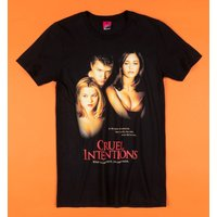 Cruel Intentions Movie Poster Black T-Shirt - Truffleshuffle Gifts