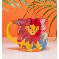 Disney Lion King Simba Shaped Mug - Lion King Gifts