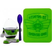 Disney Pixar Toy Story Buzz Lightyear Egg Cup And Toast Cutter Set - Buzz Lightyear Gifts