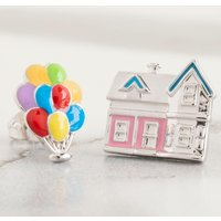 Disney Pixar UP House & Balloons Mismatched Stud Earrings - Balloons Gifts