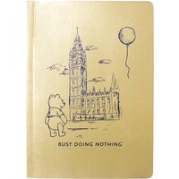 Disney Winnie The Pooh Busy Doing Nothing A5 Notebook