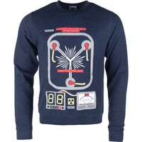 Flux Capacitor Heather Sweater - Sweater Gifts