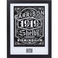 Framed Peaky Blinders Shelby Company Limited 30cm x 40cm Art Print - Peaky Blinders Gifts
