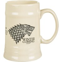 Game Of Thrones House Stark Ceramic Stein - Game Of Thrones Gifts