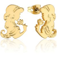 Gold Plated Aladdin Princess Jasmine Stud Earrings from Disney by Couture Kingdom - Princess Jasmine Gifts