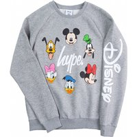 Grey Disney Characters Crewneck Sweater from Hype - Sweater Gifts