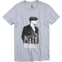 Grey Marl By Order Of The Peaky Blinders T-Shirt - Peaky Blinders Gifts