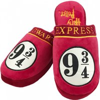 Harry Potter 9 and 3/4 Hogwarts Express Slippers - Slippers Gifts