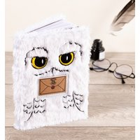Harry Potter A5 Plush Hedwig Notebook - Notebook Gifts