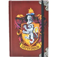 Harry Potter Gryffindor Crest A6 Notebook - Harry Potter Gifts
