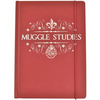Harry Potter Muggle Studies A5 Notebook - Harry Potter Gifts