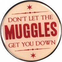Harry Potter Muggles Enamel Pin Badge - Harry Potter Gifts