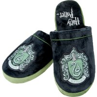 Harry Potter Slytherin Crest Slip On Slippers - Harry Potter Gifts