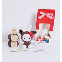 Hello Kitty Reindeer Amigurumi Crochet Kit from Stitch and Story
