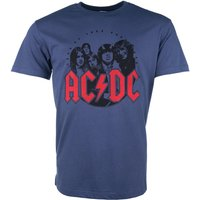 Indigo AC/DC Bon Scott T-Shirt from Amplified - Acdc Gifts