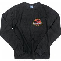 Jurassic Park Ranger Back Print Black Heather Sweater - Sweater Gifts