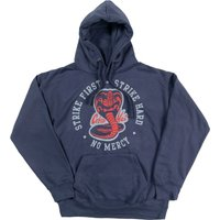 Karate Kid Strike First Strike Hard Petrol Hoodie - Karate Gifts