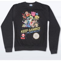 Keep Gaming Black Heather Sweater - Sweater Gifts