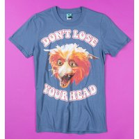 Labyrinth Fireys Don't Lose Your Head Blue T-Shirt - Truffleshuffle Gifts