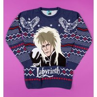 Labyrinth Jareth Knitted Jumper - Christmas Jumper Gifts