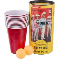 Ladybird Books For Grown Ups The Student Beer Pong Game - Student Gifts