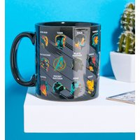 Large Marvel Avengers Endgame Glossary Mug - Marvel Gifts