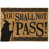 Lord Of The Rings You Shall Not Pass Door Mat - Lord Of The Rings Gifts
