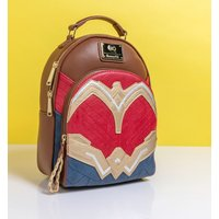 Loungefly DC Comics Wonder Woman Cosplay Mini Backpack - Woman Gifts