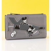 Loungefly Disney Mickey Mouse Plane Crazy Flap Purse - Purse Gifts