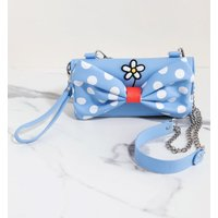 Loungefly Disney Positively Minnie Polka Dot Crossbody Wristlet - Polka Dot Gifts