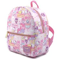 Loungefly Hello Kitty All Over Print Convertible Mini Backpack