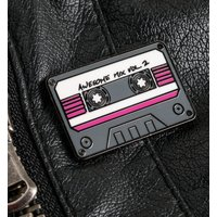 Marvel Comics Guardians of the Galaxy Mix Tape Enamel Pin Badge - Truffleshuffle Gifts