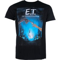 Men's Black E.T Movie Poster T-Shirt - Movie Gifts