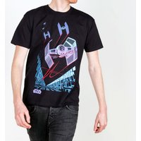 Men's Black Retro Tie Fighter Archetype Star Wars T-Shirt - Retro Gifts