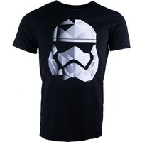 Men's Black Star Wars Geo Stormtrooper T-Shirt - Stormtrooper Gifts