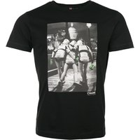Men's Black Stormtrooper Out On The Town Star Wars T-Shirt from Chunk - Stormtrooper Gifts