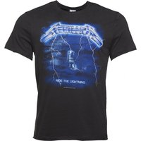 Men's Charcoal Metallica Ride The Lightning T-Shirt from Amplified - Metallica Gifts
