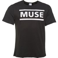 Men's Charcoal Muse Logo T-Shirt from Amplified - Muse Gifts