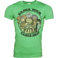 Men's Fraggle Rock Dance Your Cares Away T-Shirt - Dance Gifts