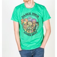 Men's Fraggle Rock Dance Your Cares Away T-Shirt - Clothes Gifts