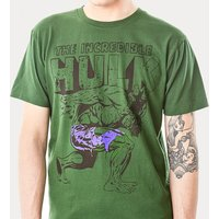 Men's Green Incredible Hulk T-Shirt from For Love & Money - Money Gifts