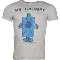 Men's Grey Mr Grumpy T-Shirt - Tshirt Gifts