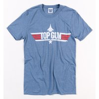 Men's Heather Blue Top Gun Maverick T-Shirt - Gun Gifts